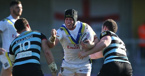 Warrington have had more play-the-balls in opposition territory