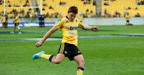 Beauden Barrett Hurricanes v Cheetahs