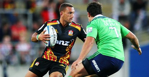 Aaron Cruden Chiefs Highlanders 2014