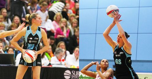 The Greenway/Dunn partnership could prove key for Surrey Storm at Netball London Live