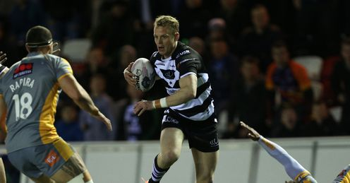 Kevin Brown Widnes v Salford 2014 Super League