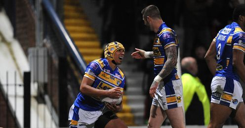 Leeds v Widnes Ben Jones Bishop Zak Hardaker