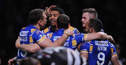 Leeds v Widnes Kallum Watkins