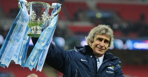 Push for more: Redknapp says Pellegrini must build on Wembley win