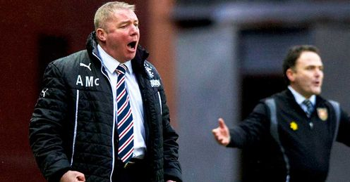 McCoist: Saw his side fail to defeat part-time Albion Rovers on Sunday
