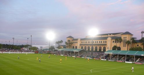Orlando City are currently playing inside Walt Disney World