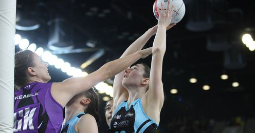 Rachel Dunne: the Storm shooter tops the table half-through the seaon (Photo by Gary Baker)