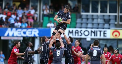 Stefan Lewies of the Cell C Sharks clean take