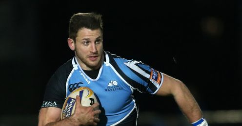 Tommy Seymour in action for Glasgow Warriors