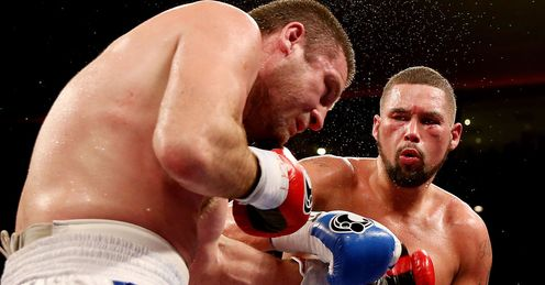 Bellew: Landed - and took - some heavy blows in Liverpool