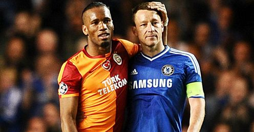 Drogba: returned to Chelsea this week