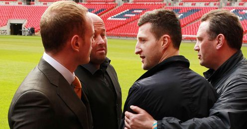 Johnny admits he would not have been able to keep his cool at Wembley if he were Carl Froch