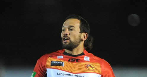LOUIS ANDERSON Super League Catalan Dragons