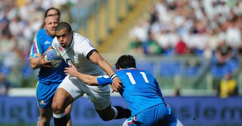 Luther Burrell England Stadio Olimpico Rome Six Nations