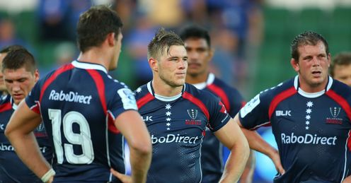 MELBOURNE REBELS DEJECTED