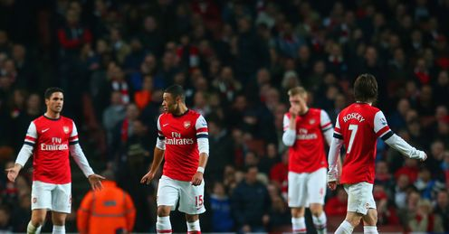 Arsenal have failed to trouble title rivals' defences, says David Jones