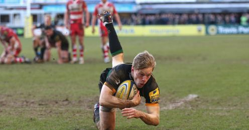 RUGBY UNION NORTHAMPTON WILL HOOLEY