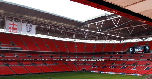 Perfect host: England and Froch-Groves II are sharing the national stadium