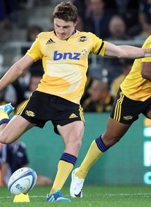 Beauden Barrett Hurricanes 2014