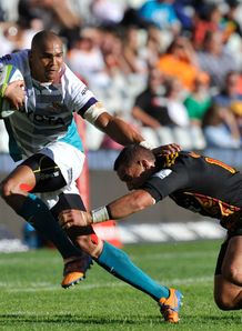 Cornal Hendricks in action for Cheetahs