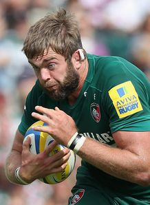Geoff Parling Leicester premiership 2014