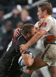 Jean Deysel and Johann Sadie Sharks v Cheetahs SR 2014