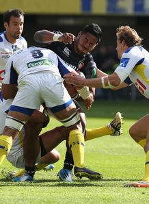Leicester Tigers centre Manu Tuilagi held in Heineken Cup quarter final