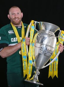 Leicester Tigers hooker Rob Hawkins