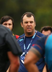 Michael Cheika Waratahs training SR 2014