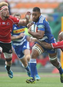 Nizaam Carr of the Stormers v Lions Newlands 2014