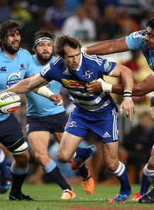 Peter Grant of the Stormers v Waratahs