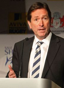 Premiership Rugby s Chief Executive Mark McCafferty 2014