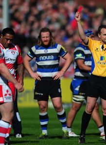 Sila Puafisi Gloucester red card 2014