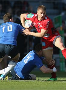 Toulon wing Drew Mitchell in Heineken Cup quarter final