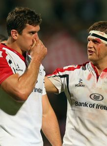 Ulster forward Robbie Diack alongside Chris Henry