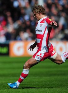 billy twelvetrees gloucester v bath