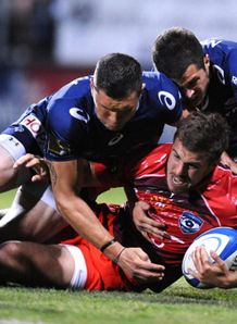 pierre berard tackled castres v montpellier 2014