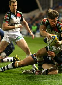 SAM SMITH TRY HARLEQUINS SHARKS