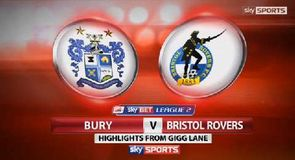 Bury 2-1 Bristol Rovers
