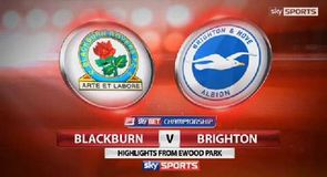 Blackburn 3-3 Brighton