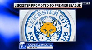 Leicester promoted to Premier League