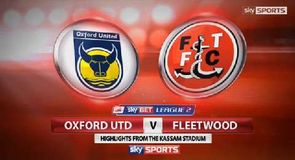 Oxford Utd 0-2 Fleetwood