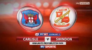 Carlisle 1-0 Swindon