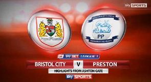 Bristol City 1-1 Preston