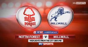 Nottingham Forest 1-2 Millwall