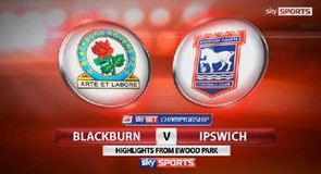 Blackburn 2-0 Ipswich