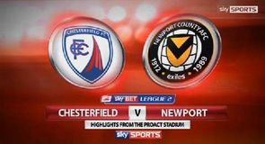 Chesterfield 1-1 Newport