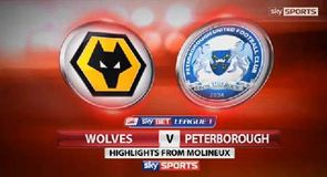 Wolves 2-0 Peterborough