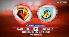 Watford 1-1 Burnley