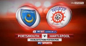 Portsmouth 1-0 Hartlepool